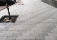 Тротуари по Театральній у Житомирі дороблятимуть трохи довше, ніж планувалось