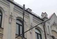 На Михайлівській встановлюють ліхтарі - 3 штуки