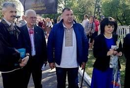 """Максим Вілівчук на """"Олевській республіці"""": """"Ми маємо власну історію, написану кров'ю земляків, які боролись за Україну"""""""