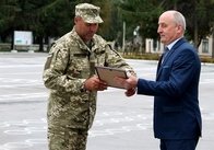 Володимир Ширма відвідав військові навчання в Новоград-Волинську