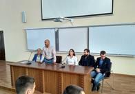У Житомирі Мустафа Найєм розповідає студентам про свій новий рух