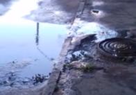 Житомиряни поскаржились на водоканал, який не зупинив витік нечистот у їхньому дворі. Відео