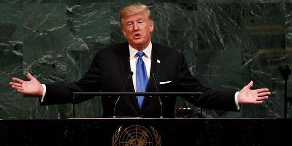 """Трамп на Генсамблеї ООН: """"Ми повинні усунути загрози суверенітетам від України і до Південно-Китайського моря"""""""