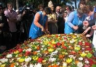 Новини Житомира на Репортері: фестиваль дерунів у Коростені вразив своїх відвідувачів найбільшим деруном (відео, фото)