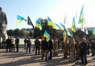 Біля ОДА у Житомирі зібрались атошники. Фото