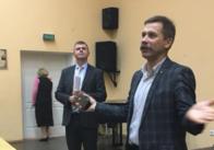 У Житомирі заступник міністра говорив зі студентами про молодіжну політику. Фото