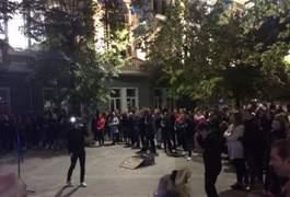 День туризму у Житомирі завершився вуличним концертом на Михайлівській