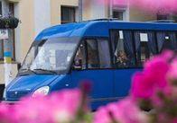 Зранку у Житомирі маршрутки ходять, але мало і заповнені людьми
