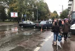 Аварія по Київській у Житомирі заблокувала рух. Фото