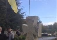 У Новограді-Волинському відкрили пам′ятний знак українським воїнам