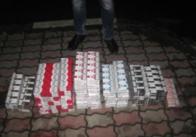 У Житомирській області на кордоні українець намагався провести безакцизні білоруські цигарки. Фото