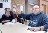 Ганапольський поговорив з журналістами не на камеру
