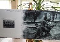 У Житомир на три години привезли виставку, в якій поєднали воїнів АТО та УПА. Фото