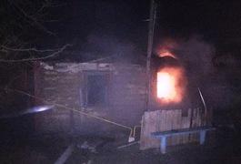 На Житомирщині у власній хаті згорів 54-річний чоловік. Фото