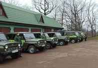 Крадіжки лісу у Житомирській області: на рейдові машини лісників встановлюють відеокамери. Фото