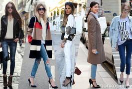 """""""Свіжі"""" ідеї, як носити завужені джинси восени 2017"""