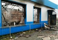 У Житомирській область через котел підприємець залишився без магазина. Фото