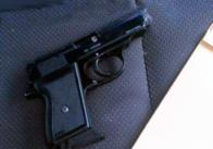 Балаклави та пістолет - у Житомирській області затримали трьох розбійників із Київщини. Фото