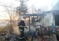 Пожежа у Житомирській області забрала життя 63-річного чоловіка. Фото
