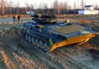 """""""Житомирський бронетанковий завод"""" показав удосконалений БМП-1 із німецьким двигуном. Відео"""