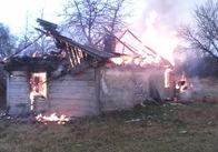 За останню добу пожежі у Житомирській області забрали життя двох людей. Фото