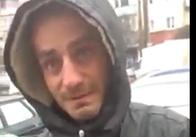 """У Житомирі активісти упіймали """"липового"""" збирача милостині. Відео"""
