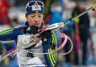 Українська біатлоністка Юлія Джима здобула «бронзу» в індивідуальній гонці в Естерсунді