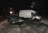 Ожеледиця у Житомирській області: два ДТП, один труп. Фото