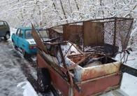Житомирські прикордонники впіймали у зоні ЧАЕС сталкерів із півтонною металобрухту. Фото