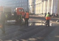 На Михалівській чистять каналізації - готуються до зими і свят