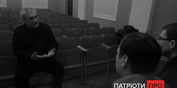"""""""Патріоти Про"""" - відомий український письменник Василь Шкляр. Відео"""