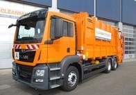 Житомирське КП придбало за 2 мільйона сміттєвоз MAN