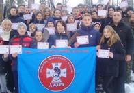 На Житомирщині провели військово-патріотичний вишкіл для молоді