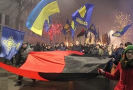 На честь Степана Бандери у Житомирі відбувся смолоскипний хід