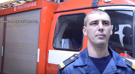 """Пожежники Житомира прочитали вірш Миколи Руденка """"Історія"""" (відео)"""