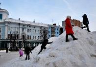 У Житомирі передбачається сніг та мокрий сніг