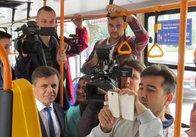 Щомісяця житомиряни купують 3000 QR-квитків в електротранспорті