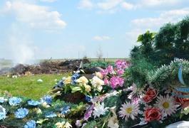 Поспівчувайте живій природі - відмовтесь нести на кладовище пластикові квіти та вінки