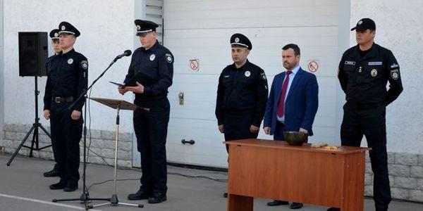 У Житомирі Україні присягнули патрульні-новачки