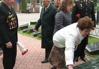 Рятувальники Житомирщини вшанували учасників Великої Вітчизняної війни – ветеранів пожежної охорони
