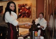 В Житомир приїхав шоколадний фонтан