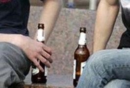 Алкоголь та правопорушення .В житомирському парку Гагаріна на лавочці пива вже не поп'єш! (відео міліцейського рейду)