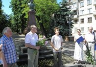 В Житомирі вшанували пам'ять Олександра Сергійовича Пушкіна (фото)