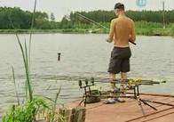 У Житомирській області проходять змагання з риболовлі (відео)