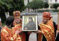 В Житомир привезли чудотворну ікону священномученика Аркадія (Остальського)