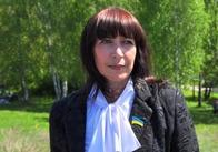 Тетяна Шкуропат вітає житомирян з 20-ю річницею Незалежності України