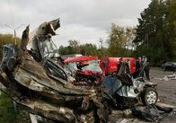 Эпидемия дорожных трагедий в Украине. ШОК!!! Сегодня под Житомиром разбились насмерть 6 человек