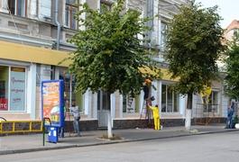 На вулиці Михайлівській активно ведуться ремонтні роботи