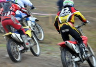 В Житомире прошли соревнования по мотокроссу (фото)