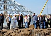 Рижук задоволений темпами будівництва елеватора на Житомирщині